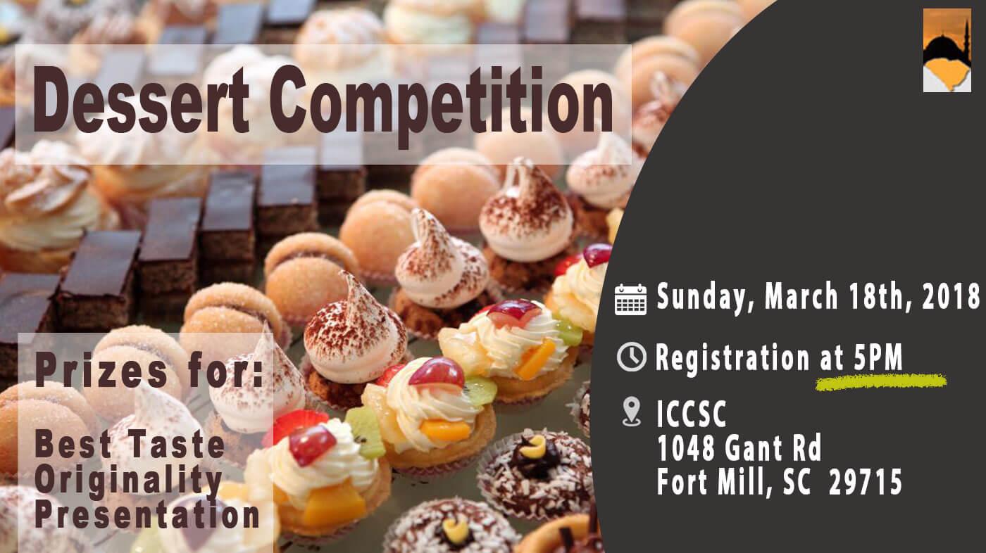 Judging criteria for dessert contest prizes